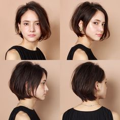 42 Stylish Office Hairstyles for Girl Bosses Office Hairstyles, Short Bob Hairstyles, Girl Hairstyles, Girl Short Hair, Short Hair Cuts, Short Hair Styles, Bubble Ponytail, Long Hair Tips, Hair Romance