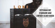 LokisLife | Hundeblog LokisLife | Hundeblog - Ein deutschsprachiger Blog über das Leben mit einem Hund aus dem Auslandstierschutz. Leser finden hier unter anderem DIYs, Literaturtipps, Produkttests, Empfehlungen und Tipps zur Hundeerziehung. Ihr möchtet für euren Hund eine tolle und individuelle Futterbar mit Stauraum für viele Leckerlie bauen? Hier findet ihr die Anleitung dazu. Der Beitrag DIY: Futterbar – So baust du einen Napfständer mit Stauraum und Namen für deinen Hund erschien zuer Bar, Painting Letters, Dog Training Tips, Names, Closet Storage, Amazing, Tutorials