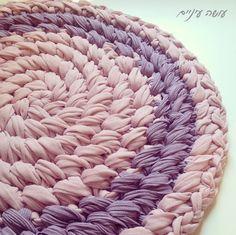 Ravelry: Cross stitch circular rug by Liat Bentov