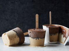 Ice Cream Treats, Ice Cream Desserts, Frozen Desserts, Ice Cream Recipes, Frozen Treats, Just Desserts, Delicious Desserts, Dessert Recipes, Chocolate Wafer Cookies