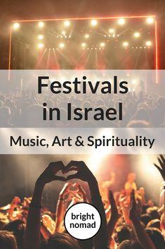 Festivals in Israel Music, Art & Spirituality