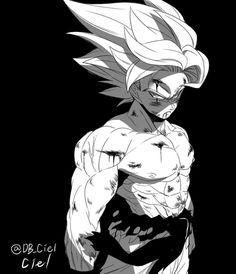 Planet Namek's savior, Goku's first Super Saiyan transformation Dragon Ball Z, Dragon Z, Manga Anime, Anime Art, Akira, Goku Pics, Manga Dragon, Ball Drawing, Fanart