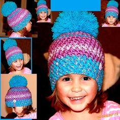 Jelikož návody psát bohužel neumím, napíši alespoň zjednodušený popis vzorečku...:-)<br><br>Je to ce... Crochet Baby, Winter Hats, Cap, Knitting, Crocheting, Socks, Fashion, Beanies, The Creation