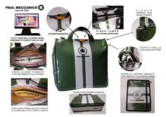 """Per la serie """"sono i dettagli a fare la differenza"""" 👀 guardate 👀 in foto quanti accorgimenti caratterizzano le nostre borse."""