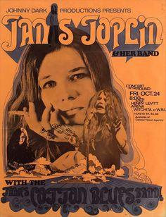 Janis Joplin & James Cotton Blues Band, 10/24/1969