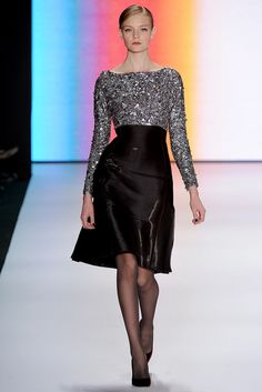 Carolina Herrera Fall 2011 Ready-to-Wear - Collection - Gallery - Look 1 - Style.com