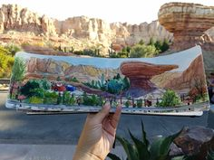 Plein air at Disneyland