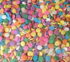 Edible Confetti Pastel Cupcake Decoration Sprinkles Cake Decorating 450 Grams | eBay