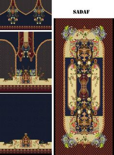 Textile Patterns, Textile Design, Textile Prints, Flower Art Images, Types Of Textiles, Chinese Patterns, Paisley Art, Border Embroidery Designs, Design Maker