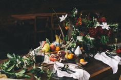 Dutch still life inspiration shoot, isn't the table spread gorgeous?!
