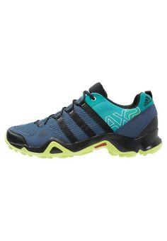 adidas Performance AX2 Półbuty trekkingowe mineral blue/core black/green