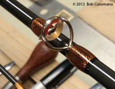 Bamboo Fly Rod Wrapping and Fly Tying