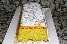 Recopilatorio de recetas : Cake de limón en thermomix