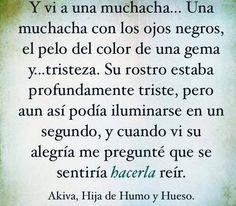 """*ℱ.Ḓ.ℒ.   """"Hija de Humo y Hueso"""""""