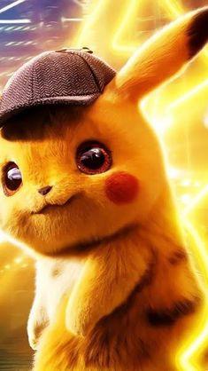 Detective Pikachu, Wallpaper – My Pin Page Pikachu Pikachu, Pikachu Funny, Pikachu Crochet, Cute Pokemon Wallpaper, Cute Cartoon Wallpapers, Disney Wallpaper, 3840x2160 Wallpaper, Phone Wallpapers, Pokemon Legal