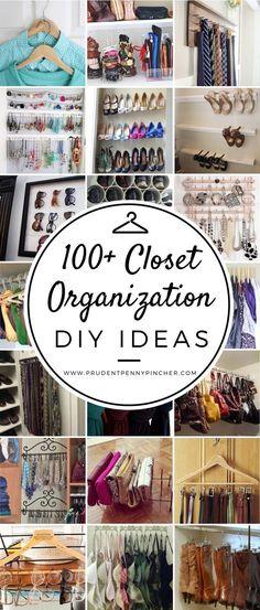 100 Best DIY Closet
