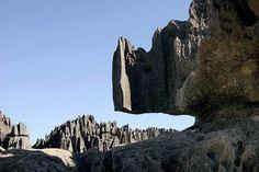 Rock formation, Madagascar