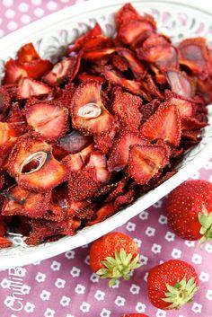 ChilliBite.pl - motywuje do gotowania!: Suszone truskawki domowym sposobem