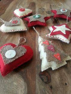 My Homemade Christmas Decorations елочные игрушки из войлока, christmas crafts, ideas for Christmas gifts, felt hand made newyears gifts, идеи сувениров из фетра, фетровые подарки, новогодние сувениры, handmade decor, ручная работа, новогодние подарки и декор More