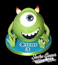 Monsters University Mike Wazowski Cake Darko Delights