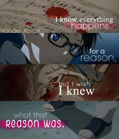 anime quotes so umm guys in my pinnes im always laughing and happy so when it hits new year im going to start a board about me my feeling and anxiety and