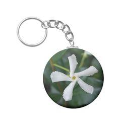 Star Jasmine Key Ring