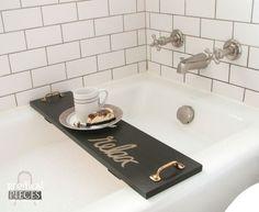 build a bathtub tray diy style makes great gifts, bathroom ideas, diy, how to, woodworking projects Bathtub Shelf, Bathtub Tray, Diy Bathtub, Bath Tub, Bathtub Caddy, Bathtub Decor, Bathtub Board, Clawfoot Tubs, Bathtub Ideas