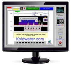 Koldwater PLC training software at http://koldwater.com/PLC-Training-Software.html