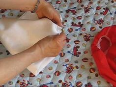 How to Fold Flat Square Cloth Diapers