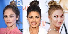 The Best Top Knot Hairstyles  - HarpersBAZAAR.com