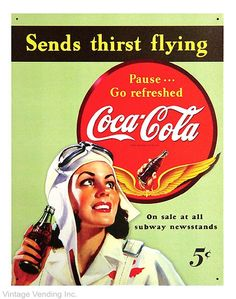 A 5 cent Coke. An afterschool treat from the corner store.