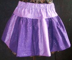 Infant Toddler or Girls TwoColor Twirly Skirt by BeeBeesBoutique, $22.00