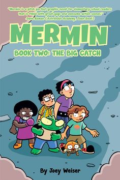 (Oni - Diamond) Mermin is finally getting used to life on dry land when he's discovered by a duo of amateur paranormal investigators. To make matters worse, Pete and the others discover the truth about who Mermin really is, thanks to Mermin's aquatic friend, Benny. MERMIN BOOK TWO: THE BIG CATCH