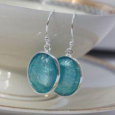 Murano glass earrings.