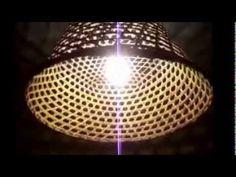 Luminária Romântica de Cesto - YouTube