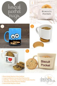 Biscuit Pocket Mugs – for those who like to dunk while they drink