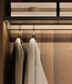 Home Decor Items Fittings Tech - Clothing Hanging Rod - by Former Walk In Robe Designs, Closet Designs, Wardrobe Closet, Walk In Closet, Closet Clothing, Clothes Rod, Nursery Closet Organization, Joinery Details, Wardrobe Design