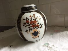 Ginger Jar Porcelain collectible home and decor hand painted in Hong Kong Ginger Jars, Snow Globes, Hong Kong, Porcelain, Hand Painted, Passion, Painting, Vintage, Collection