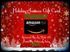 The La Mode 365 Holiday Amazon Gift Card Giveaway ($50) Ends 11/30!