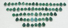 Gemstone 14884: Wholesale 31 Pair 925 Silver Plated Faceted Green Emerald Stud Earring Lot -> BUY IT NOW ONLY: $36.29 on eBay!