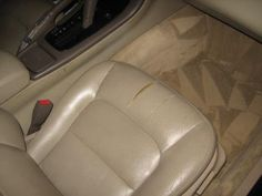 How to Repair Leather and Vinyl Car Seats Yourself
