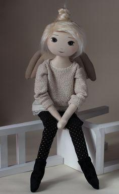 Ajona – roma anielska, handmade doll by romaszop