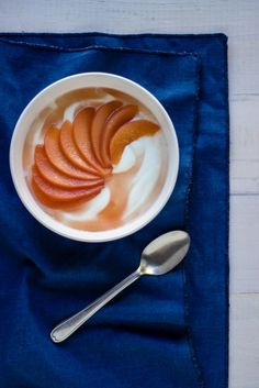 HONEY POACHED QUINCE  fulfilled