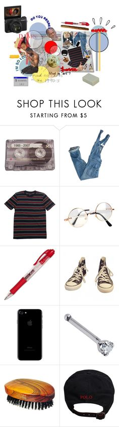 """""""Do you regret? 2:17 PM O7.27.2O17"""" by a-lmightysonnie ❤ liked on Polyvore featuring CASSETTE, American Eagle Outfitters, Brixton, Retrò, Converse, OUTRAGE, Hydrea London, Ralph Lauren, Pointer and Old Navy"""