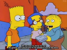 """10 of the best quotes from the classic television series """"The Simpsons"""" Ice Queen Adventure Time, Adventure Time Anime, Simpsons Quotes, Simpsons Art, Ralph Wiggum, Goat Cartoon, Simpsons Characters, World Tv, Girl Meets World"""