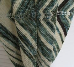 I am in LOVE with garter stitch, especially in the Pigeonroof - gorgeous! When I'm not admiring the colours of this project, I'm planning how I'll do the nex. Garter Stitch, The Fool, Ravelry, Cowl, Men Sweater, Stripes, Pattern, Sweaters, Inspiration