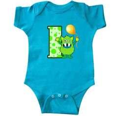 2a977678eb422 Inktastic 1st Birthday Monster Infant Creeper Baby Bodysuit First Gift  One-piece