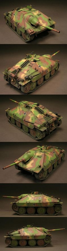 German Jagdpanzer 38(t) Hetzer 1/35 Scale Model