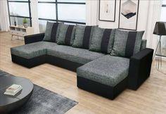 Rozkladacia sedacia súprava GRASSA U | Expedo.sk Outdoor Sectional, Sectional Sofa, Outdoor Furniture, Outdoor Decor, Modern, Elegant, Home Decor, Products, Closet Storage