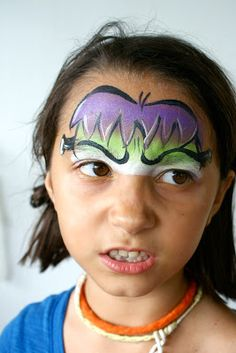 star haus: Halloween and face paint.